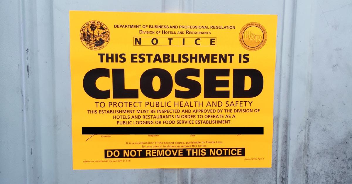 Avoid having your business shut down for pests