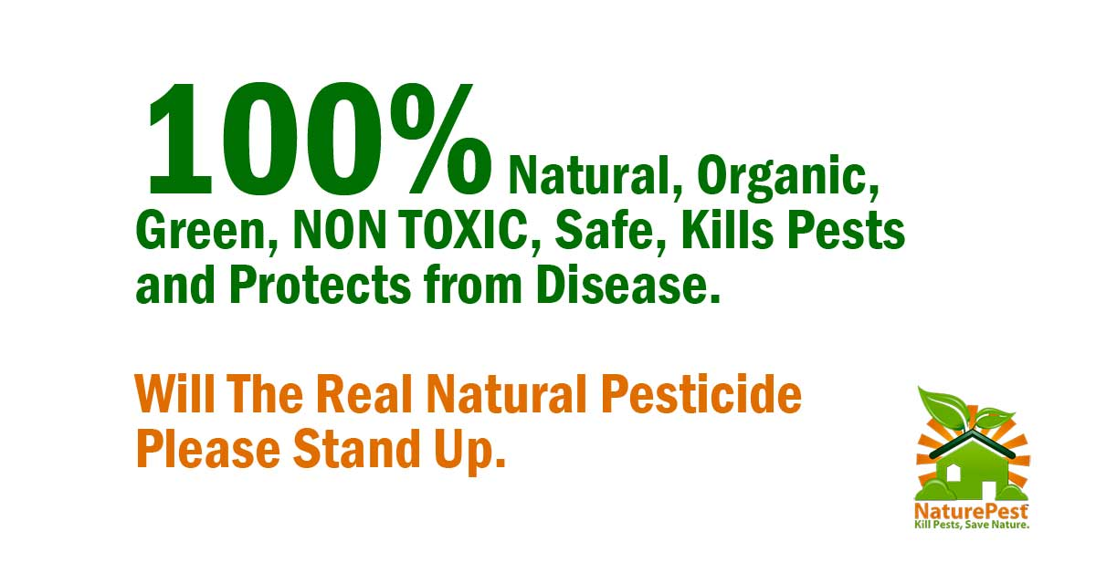 Will The Real Natural Pesticide Please Stand Up.
